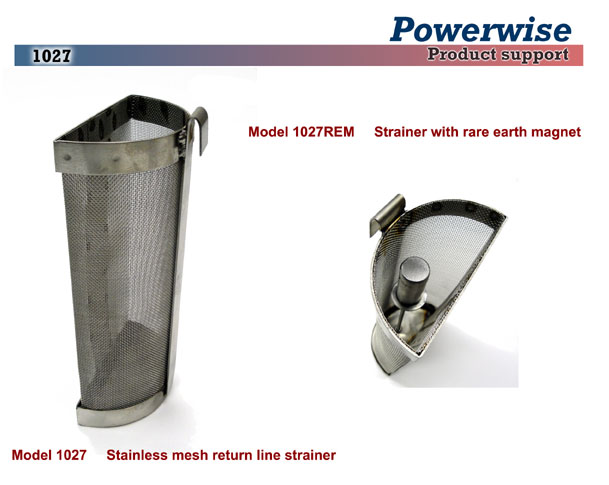 1027 Return Line Strainer for Powerwise Ink Pump
