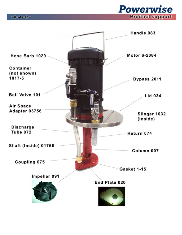 Model 2084-037 Powerwise Ink Pump